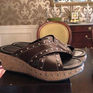 Donald J Pliner Platform Sandals